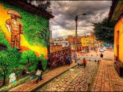 ボゴタの旧市街
