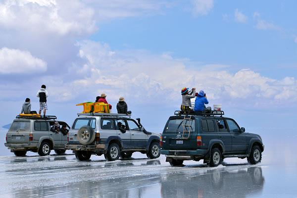陸路でウユニ塩湖へ