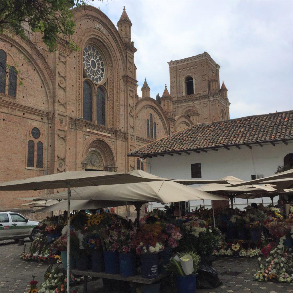 世界遺産の街、クエンカ(エクアドル)