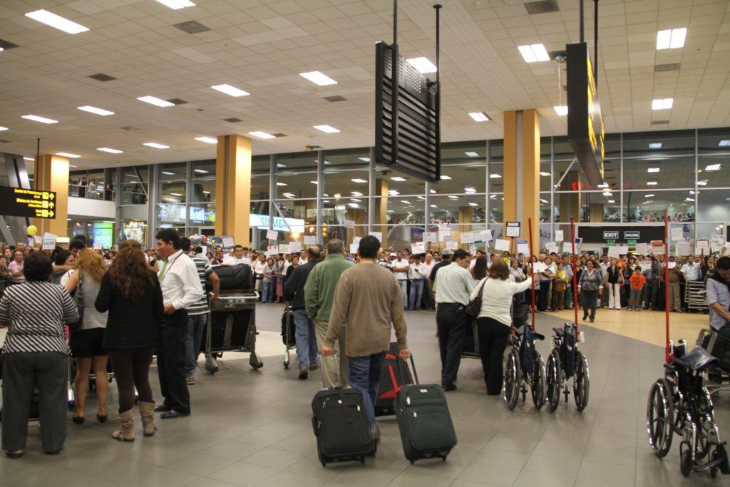 ペルー リマ空港での過ごし方