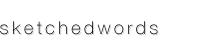 sketchedwords Logo