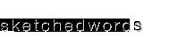 sketchedwords Logo