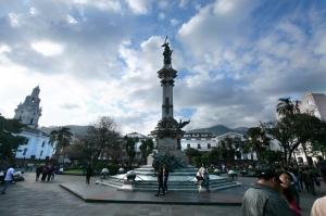 キト旧市街の中心的広場