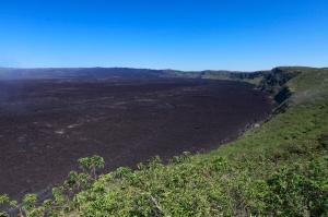 世界で2番めに大きな火山クレーター