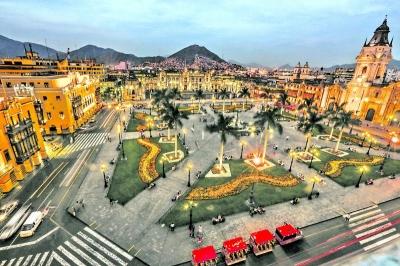 Lima plaza mayor