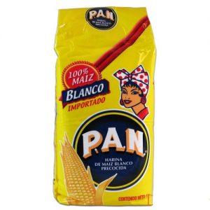 Harina de maíz blanco precocida Pan 1 kg-500x500