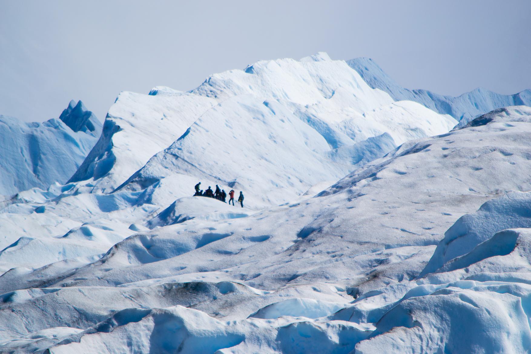 ペリトモレノ氷河トレッキング