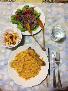 キューバのお母さんが作る料理
