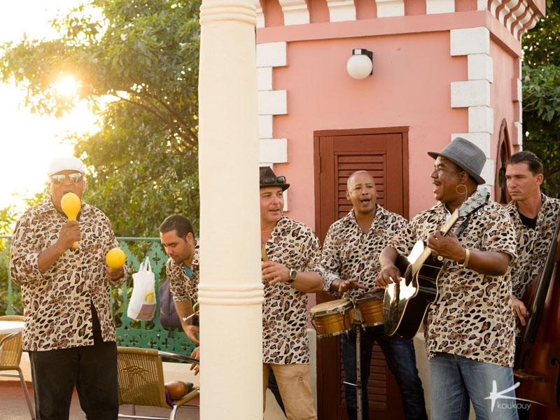 キューバには音楽が溢れている。