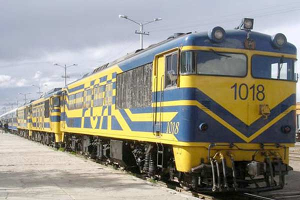 ボリビアの列車